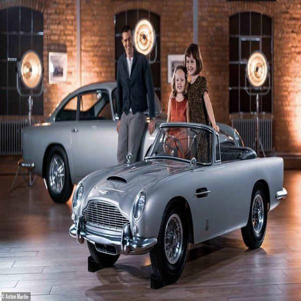 Aston Martin Reveals A Scaled-down Electric DB5 £54,000
