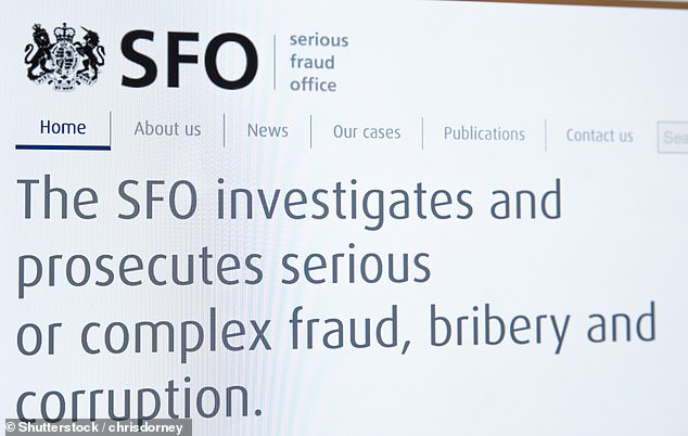 Collapse: The SFO alleged the trio had diverted money from the Axiom Legal Financing Fund for their own benefit