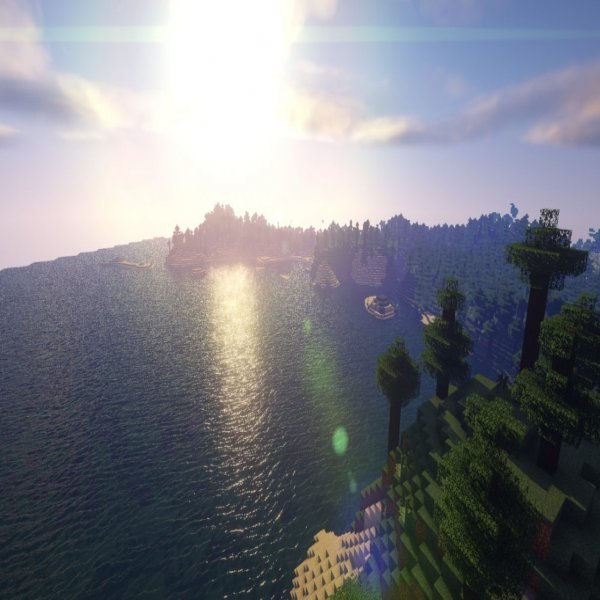Beyond Belief Shaders boast possibly the best-looking water of any Minecraft Shaders pack for 1.16.2.