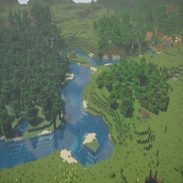 The Nostalgia Shader Pack gives Minecraft a subtle but extremely effective makeover, without sacrificing performance.